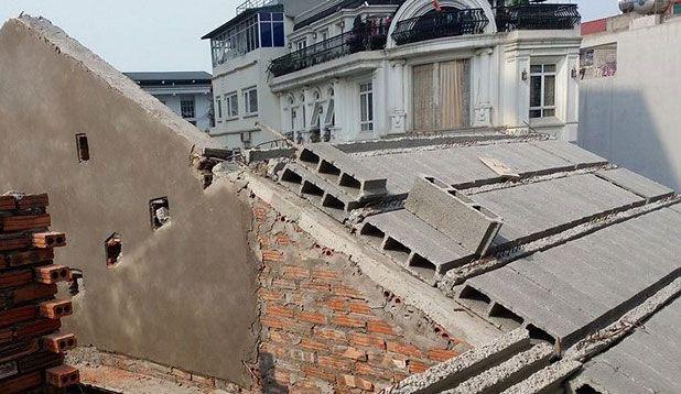 Thi công xây dựng mái bê tông siêu nhẹ