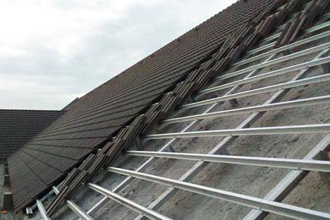 Thiết kế thi công xd nhà mái gói trên hệ dàn thép mạ trọng lượng nhẹ