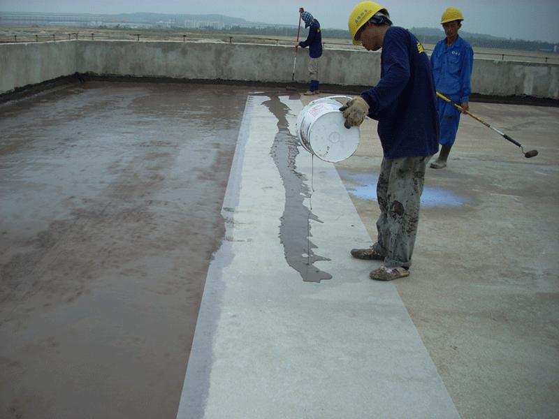 Chống thấm mái bê tông bị nứt