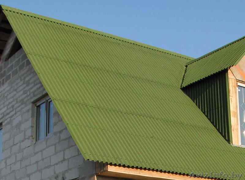 Mẫu mái nhà bằng tấm lợp sinh thái