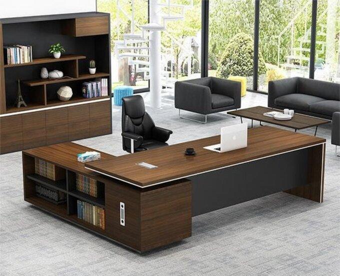 Mẫu thiết kế nội thất phòng giám đốc sang trọng