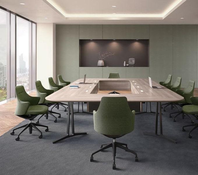 Mẫu thiết kế phòng họp, phòng hội nghị nhỏ