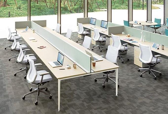 Mẫu thiết kế văn phòng làm việc lớn